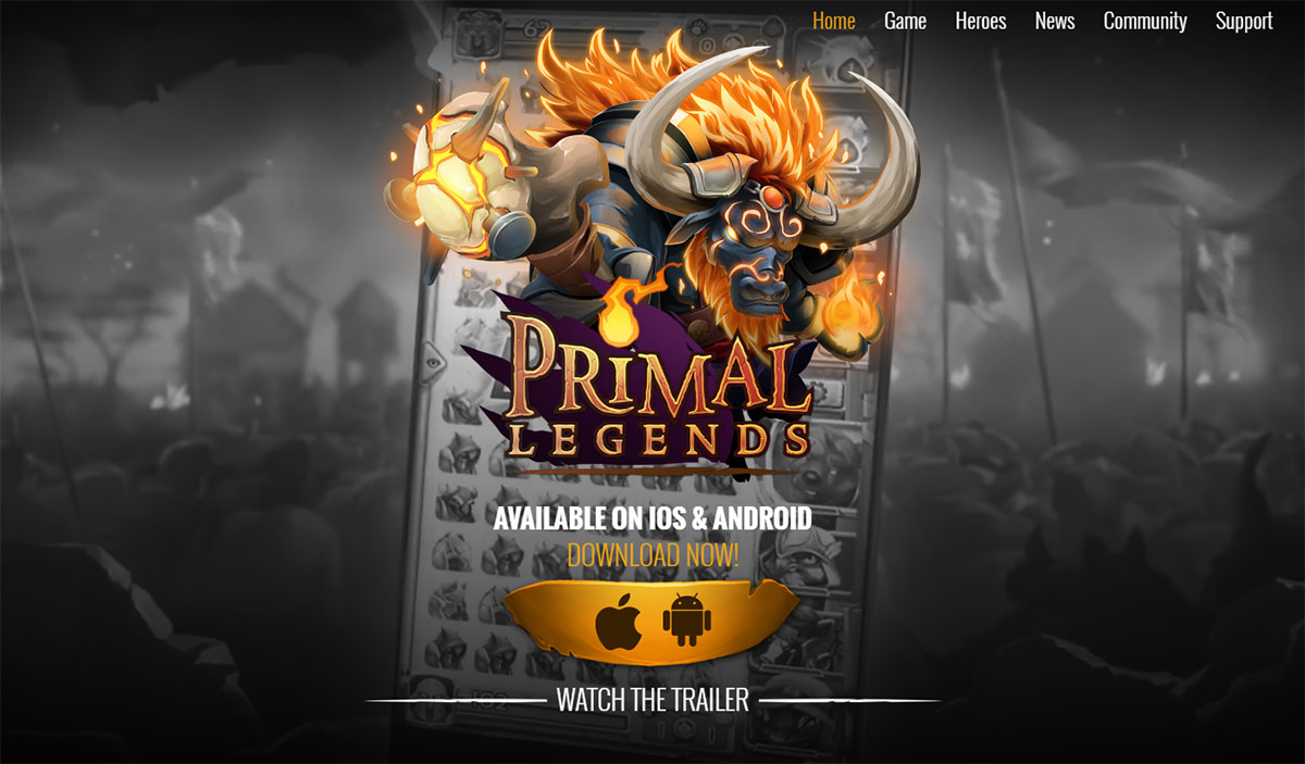 Primal Legends | By Kobojo - Available on IOS and Android